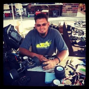 """JConcepts driver Dave """"Double D"""" Duncan. Photo credit - Bubba Boggs"""