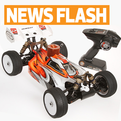 Serpent goes RTR with race-spec, Novarossi-powered 1/8 buggy