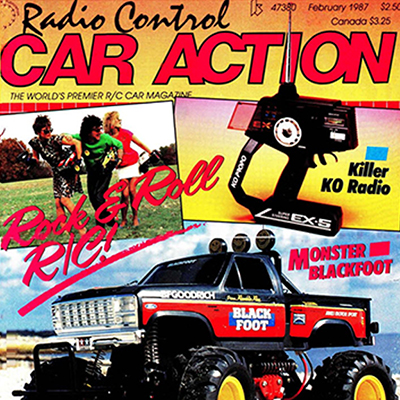 From The Archives: February 1987 – Blackfoot, Kyosho Turbo Optima, more…
