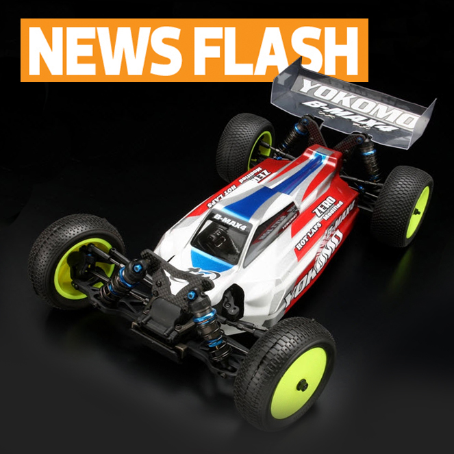 Yokomo announces B-MAX4 III, new 4WD buggy to arrive late October