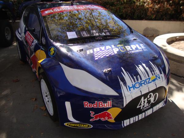 I wonder if this hatchback inspired the new Losi TEN Rally-X?