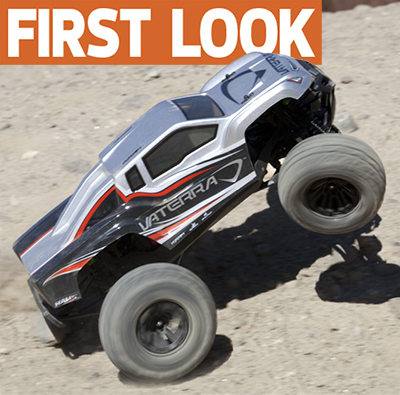 Vaterra announces Hälix 4X4 brushless monster truck with AVC electronic stability system–WE DRIVE IT!