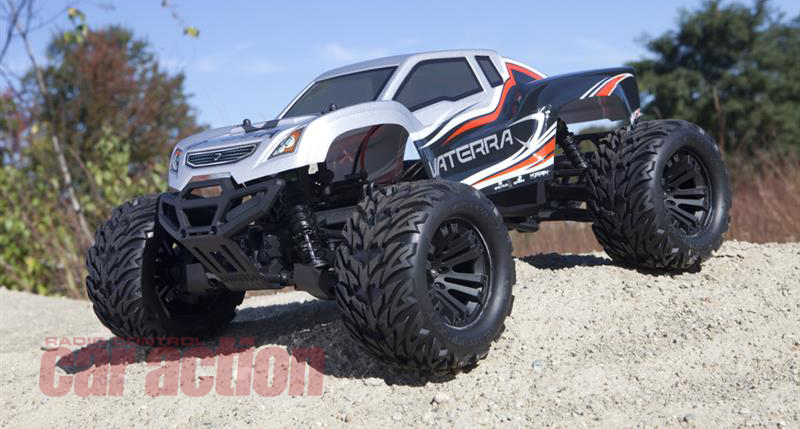 Vaterra Announces Halix 4x4 Brushless Monster Truck With Avc Electronic Stability System We Drive It Rc Car Action