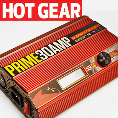 Latest Gear: Racers Edge PRIME 30amp Power Supply