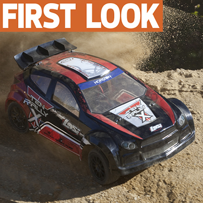 Losi announces TEN Rally-X 4WD rally car with AVC electronic stability system–WE DRIVE IT FIRST