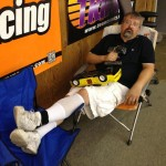 Long time VTA racer and guru Brian Smith takes a break.