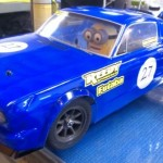 Will Sheffield's Mustang.  Check out driver.