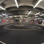 Fish Eye view of Thunder RC Raceway