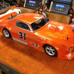 McAllister 1970 Trans Am ready to race on an Associated TC3
