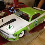 Brian Smith's TC4 Pegasus Mustang.