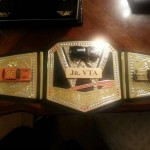 The Jr. VTA champion gets to wear this title belt!