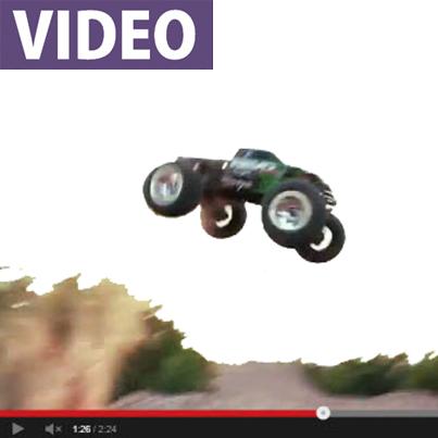 Latest Traxxas video: E-Revo vs. Revo 3.3, watch it here!