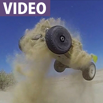 Go-Pro plus Slow-Mo! Fantastic RC Jumping Video