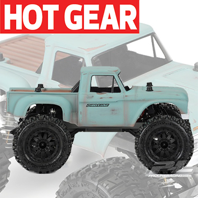 Pro-Line Goes Vintage with New '66 Ford F-100 Shell