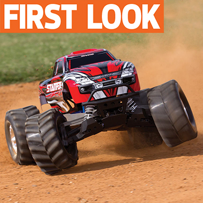 Traxxas Brings Titan 550 power to Stampede 4X4