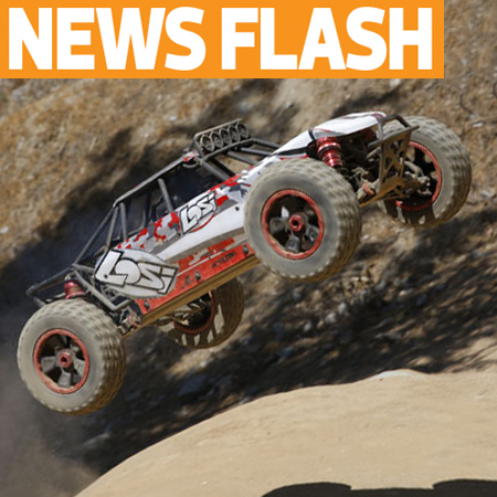 Losi's New Desert Buggy XL: 1/5 Scale 4WD Open-Wheeler