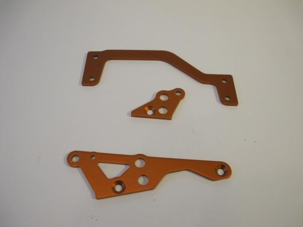 Remove all anodized parts from your vehicle and deep clean the items to rid them of any dirt, debris and grease.