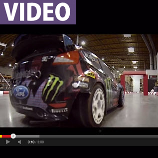 WATCH: Amazing Gymkhana Action With HPI's Ken Block Micro RS4