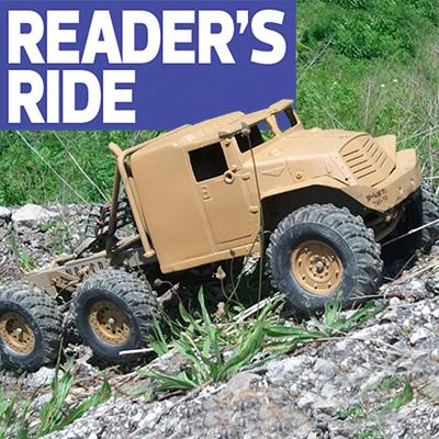 Reader's Ride: Joe Mergel's Amazing 6X6 Semi