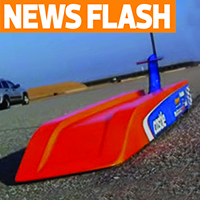New RC Land Speed Record – Nic Case hits 184 MPH!