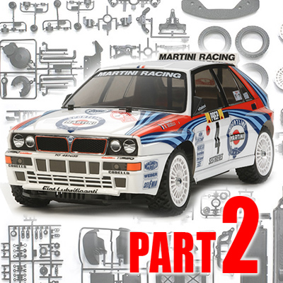 Part 2: Tamiya XV-01 Lancia Delta Integrale Build