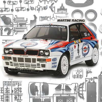 New Online Build: Tamiya XV-01 Lancia Delta Integrale