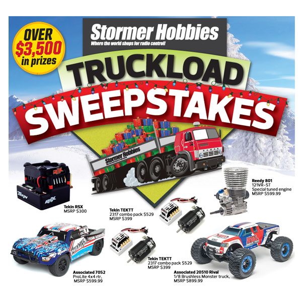 Over $3,500 in Prizes — Enter The Stormer Truckload Sweepstakes Now!