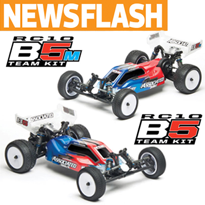 RC10B5- Team Associated Releases More Details!