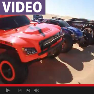 WATCH: Traxxas Invades the Dunes At Glamis