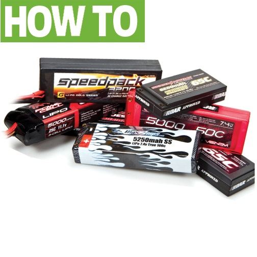 How to properly transport, care for, and store your LiPo batteries