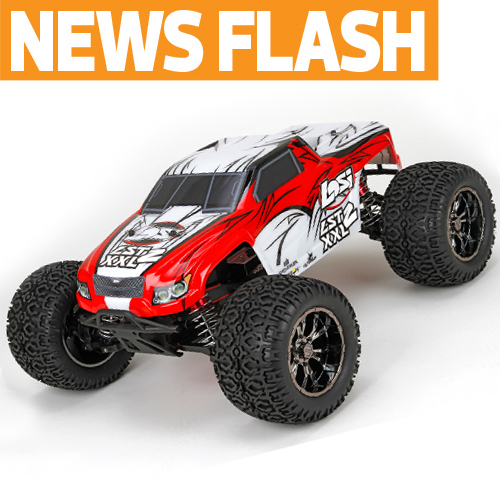 It's Not Nitro—Losi's New Monster Burns Gasoline! Losi LST2 XXL First Look and Video!