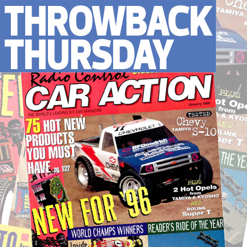 The Beginnings of Short Course and Two Worlds Winners: Throwing Back With RC Car Action January 1996