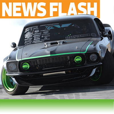 Gittin' Sideways! HPI Announces Nitro-Powered Vaughn Gittin Jr. Mustang RTR-X