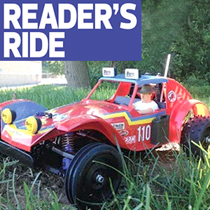 This Week's Featured Ride: Noor Daniel's Tamiya Holiday Buggy