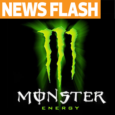 Monster Energy to Sponsor Reedy Race