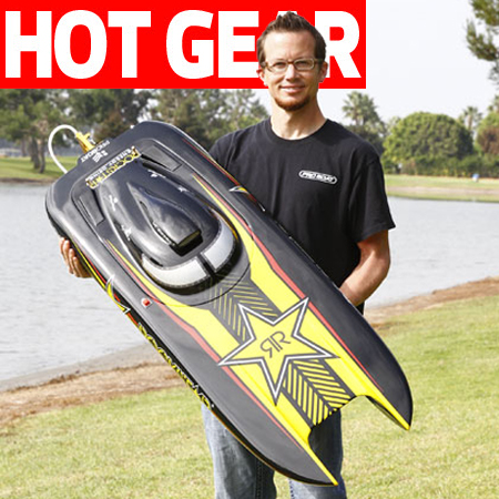 Gas Cat! Pro Boat's 48″ Rockstar Ride is Ready to Rip