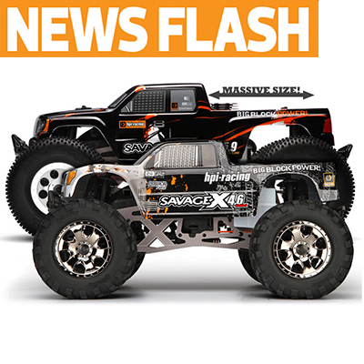 HPI Super-Sizes Savage With New 5.9cc XL Version