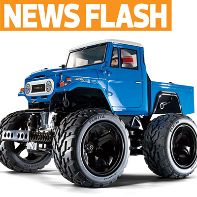 Tamiya Land Cruiser 40 P/Up–Plus More from Germany