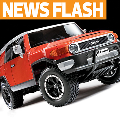 Tamiya Announces New Toyota FJ Cruiser and CC-01 Options