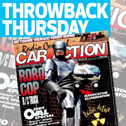 October 1990: RoboCop's Cover Shot!
