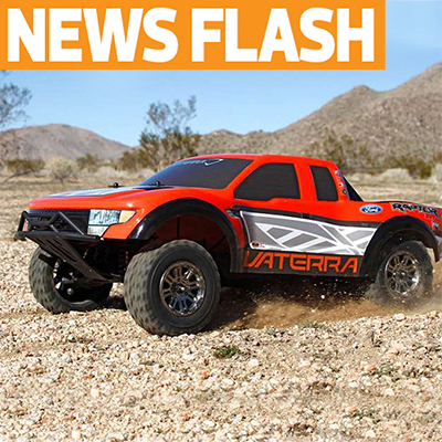 Vaterra Announces New Raptor 4WD Short-Course Truck