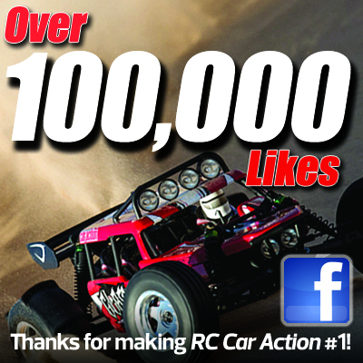 RC Car Action Hits 100,000 Likes!