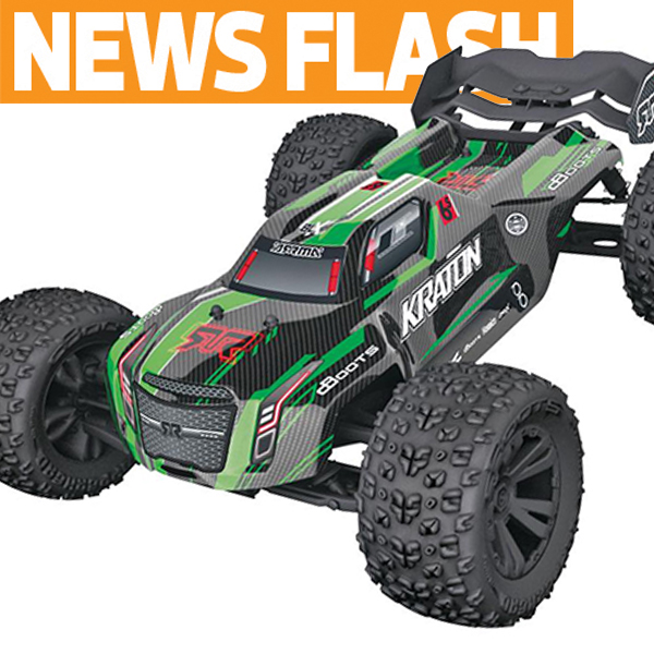 "ARRMA Announces New Typhon & Kraton ""6S Rated"" 1/8 Scale Vehicles"
