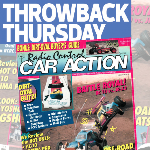 RC Car Action November 1989: An Epic Rivalry Begins!