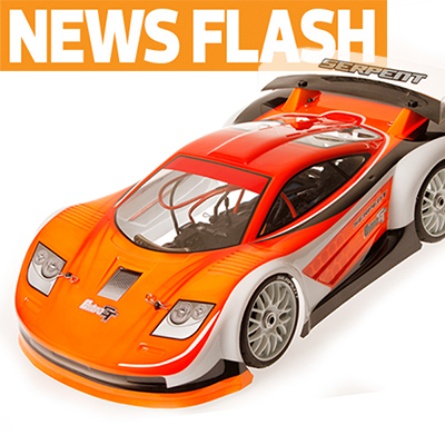 Serpent Announces GT-E Cobra,1/8 Scale Electric GT Car