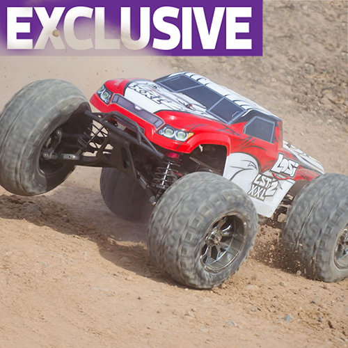 Losi's LST2 XXL burns gas – and rubber! We drive it first!
