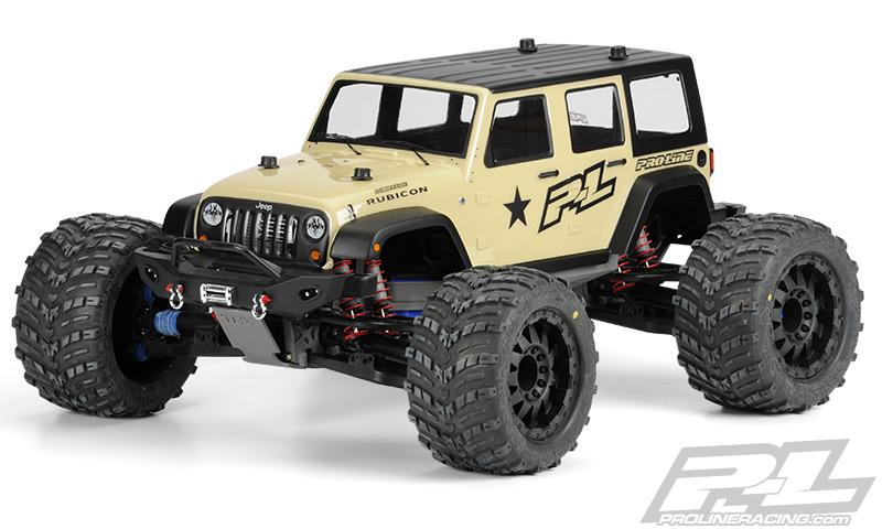 Pro Line Announces Monster Sized Wrangler Shell Sc Bronco
