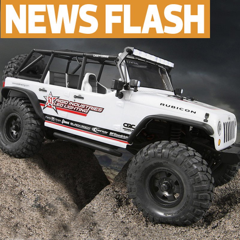 New & Hot: Axial's Casey-Currie-inspired SCX10 Jeep Wrangler Unlimited C/R Edition