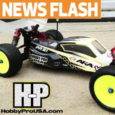 Hobby Pro USA's PRS1 2WD buggy gets updated for the 2014 season