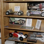 Gene's home museum is a collection of Team Associated's history. That's a prototype RC10 next to the buggy from the famous Jay Halsey ad of the 1990s.